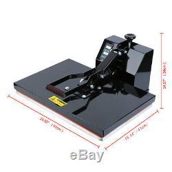 Ridgeyard 16x24 Digital Heat Press Machine Sublimation Transfer T-shirt 1600W