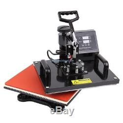 Ridgeyard 8 In 1 Digital Heat Press Machine Sublimation T-Shirt/Mug/Plate Hat