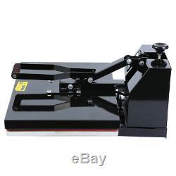 Ridgeyard Clamshell Heat Press Transfer T-Shirt Sublimation Machine 16x24