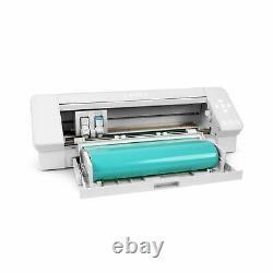 Silhouette White Cameo 4 Heat Press T-Shirt Bundle with Mint 15 x 15 Heat Press