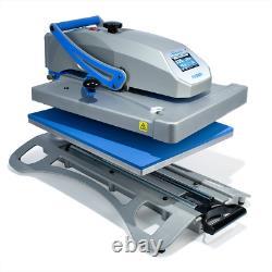 Stahls Hotronix Fusion IQ Heat Press XF-120 16 x 20 T-shirt Transfers