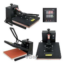 Sublimation Transfer DIY T-shirt Digital 15X15 Clamshell Heat Press Machine