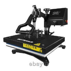 Swing Away Digital Heat Press Sublimation Transfer Machine 12x9in DIY T-shirts