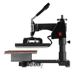 T-Shirt Heat Press Sublimation Transfer Machine 12 x 10 Swing Away 360 Degree