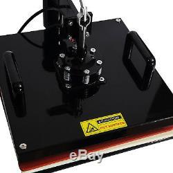 Teflon 15X15 Digital Heat Press Machine Transfer Sublimation T Shirt Mug Plate