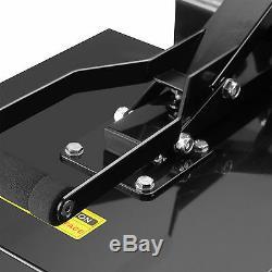 Teflon 16x20 Digital Clamshell Heat Press Transfer T-shirt Sublimation Machine
