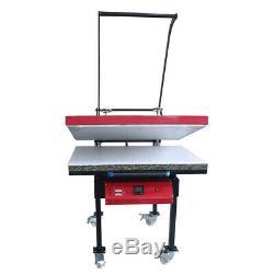 US 110V Large Format T-shirt Sublimation Heat Press Machine 6000W 23.6 x 31.4