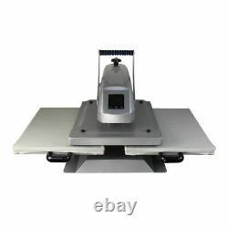 US 16x24 Dual Platen Sublimation Heat Press Machine for T-shirt Cloth Tile