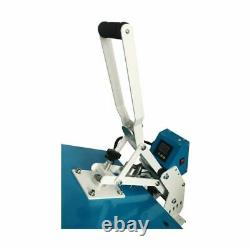 US 20 x 16 Clamshell Auto Open T-shirt Heat Press Machine Horizontal Version