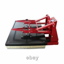US 24 x 31 Clamshell Large Format Heat Press Machine T-shirts Sublimation 110V