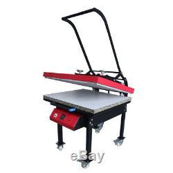 US Large Format T-shirt Sublimation Heat Press Machine 23.6 x 31.4 110V 6000W
