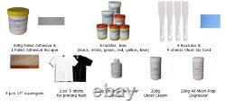 US Silk Screen Printing Machine Press 6 Color 6 station t-shirt printer Full Set