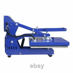 US Stock 16 x 20 Auto-Open Clamshell Heat Press Machine for T-shirts/ Garments