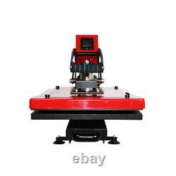 US Stock 16 x 20 CLAM Auto Open T-shirt Heat Press Machine Vertical Version