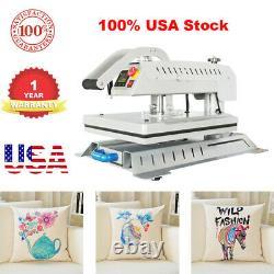 Upgraded Swing Away 16x20 3D Sublimation T-Shirt Heat Press Machine USA