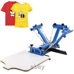 VEVOR 4 color 1 station Screen Printing Machine/ DIY T-Shirt Press Printer