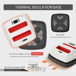 VIVOHOME Handheld T-Shirt Heat Press Machine Digital Sublimation Transfer Print